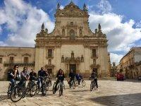 The historic center of Lecce