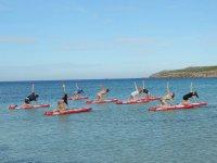 Esercizi Paddle Surf