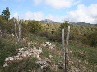 Sentiero presso il monte Labro