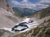 monti Sibillini il leggendario lago di Pilato