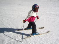 Ski courses in various levels