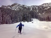 Un modo rapido di camminare sulla neve