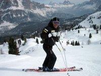 Sci sulle Alpi