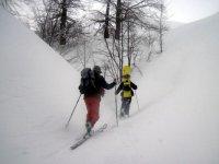 Sulla neve con guide esperte