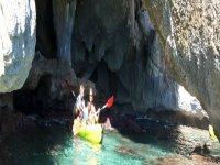 Sardegna in canoa