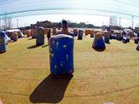 Paintballs a terra