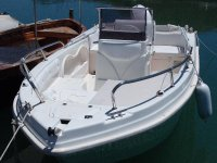 Rubber dinghy and boat rental