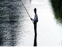Lago per la pesca