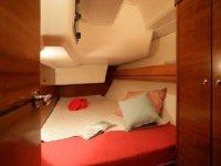 La cabina da letto