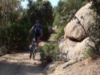In mountainbike