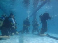 Exercises in water