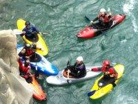 escursioni in kayak sul fiume Lima