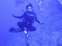 Yoga under water