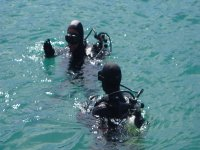 diving courses beginning of the descent