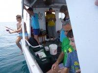 Pesca a bordo