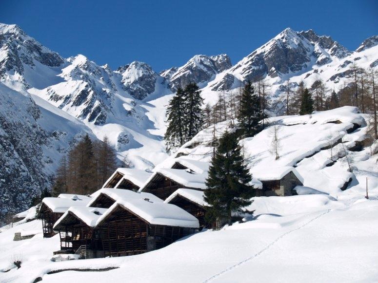 un meraviglioso villaggio in Val d'Otro