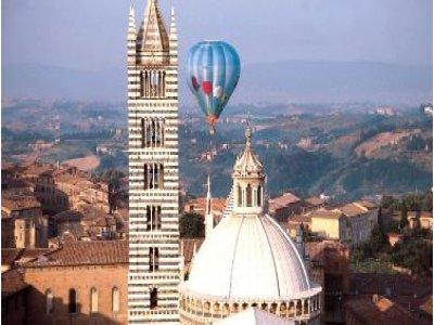 Volo mongolfiera Toscana-Offerta esclusiva coppia