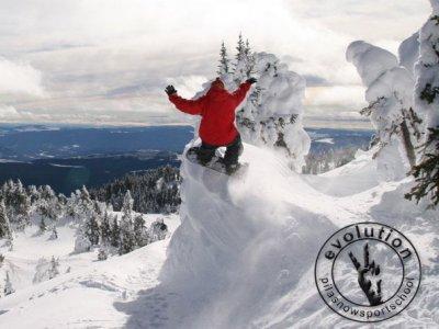 Evolution pilasnowsportschool Snowboard