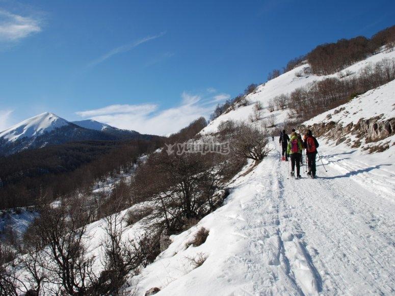 Escursioni con le ciaspole
