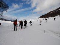 Escursioni guidate con le ciaspole Monti Simbruini