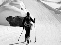 Guided cross-country ski tours in the Simbruini Mountains