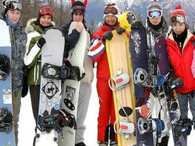 Scuola Sauze Sportinia Snowboard