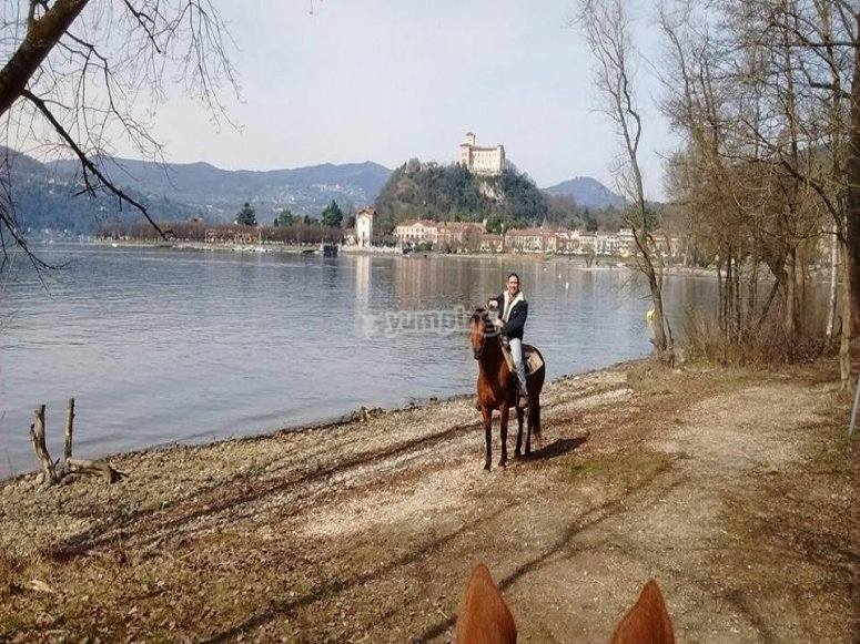 In sella al cavallo