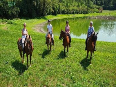 Giornata a cavallo Ticino-Sesto-Sant'Anna-Cocquo