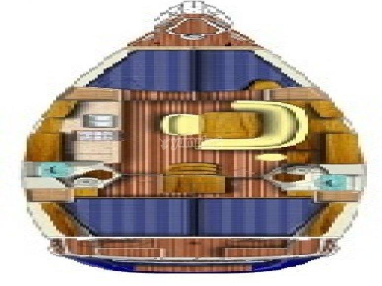 Sun Odyssey 45 - plan