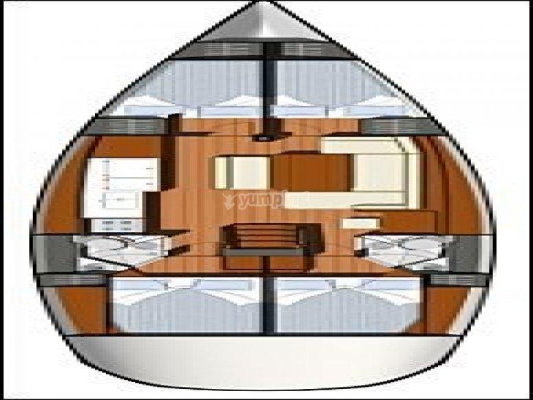 Sun Odyssey 44i - plan