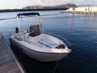 Una delle nostre imbarcazioni a motore