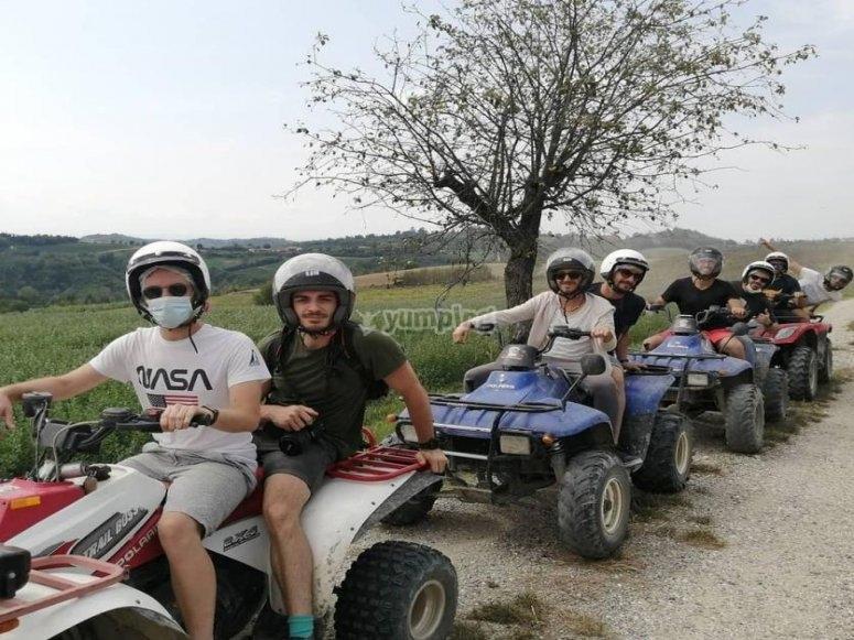 gruppo escursione offroad