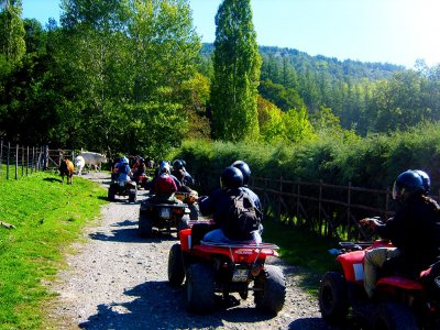 Escursione Quad PLUS nel Monferrato con Aperitivo