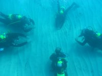 Exercises in the seabed