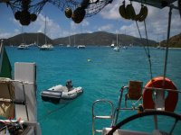 Vacation on a sailing boat