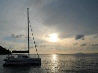 Among the Sicilian islands