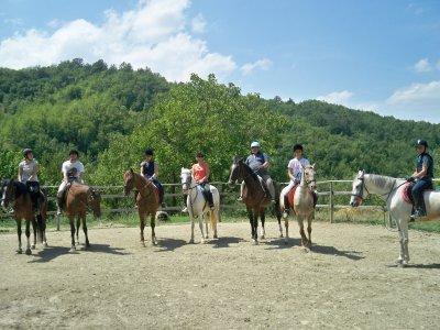 Soggiorno azienda agricola+cura del cavallo