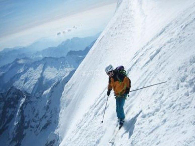 Sci alpino a Macugnaga