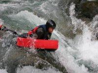 Giù per il fiume con l'hydrospeed