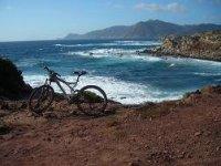 Mountain bike ad Alghero