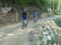 Mountain bike in Valsesia