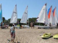 La nostra base a Porto Pollo_ Sardegna