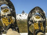 Con le ciaspole in montagna