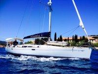 Navigando in barca vela