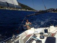 Navigando nel Mar Tirreno