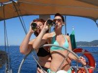 Party a bordo