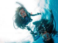 Diving with Lazzurro