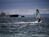 Al largo di Trieste in Windsurf