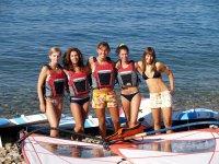 Allieve di windsurf