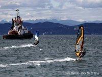 Windsurfer a Trieste